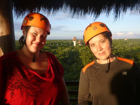 Xplor Park : 2nd course of zip-lines!