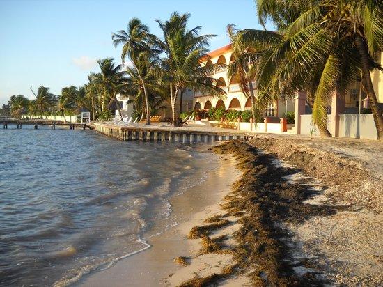 Banana Beach Resort: View of BB just down the beach