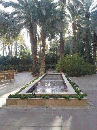 Jardín Milenio: jardín árabe fuente