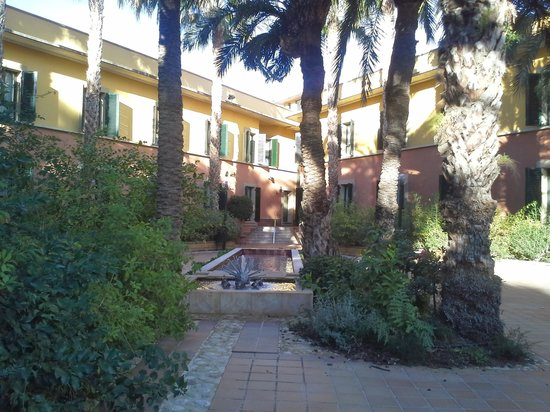 Jardin Milenio: jardín árabe habitaciones