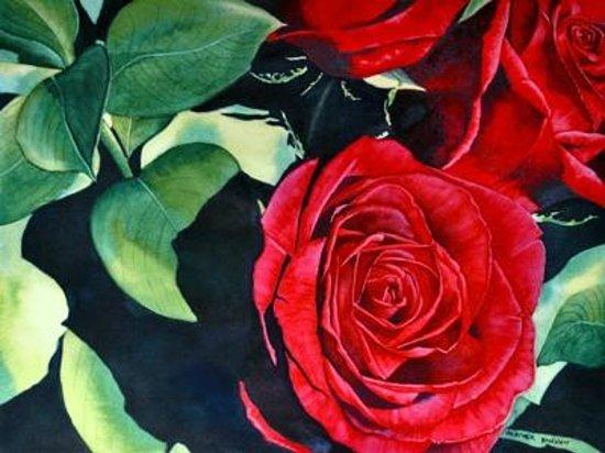 Heather Hannon Island Art Studio: Island roses