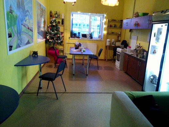 Party Train Hostel: кухня