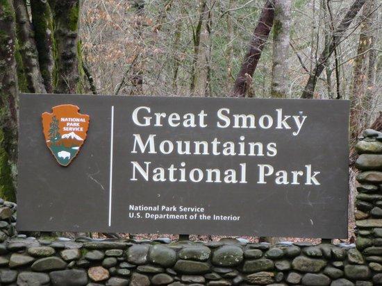 Gatlinburg Falls Resort: Entrance