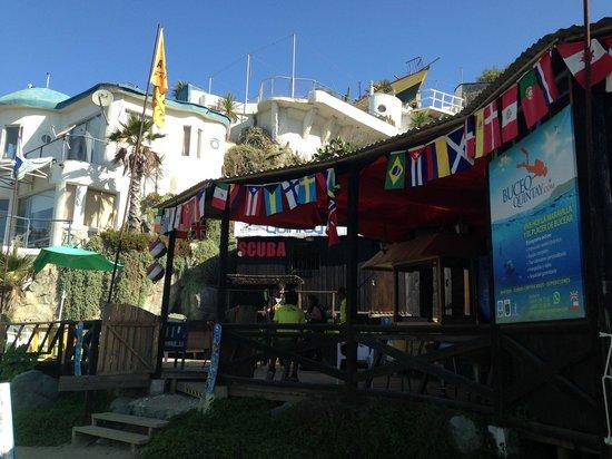 Quintay, Chile: Bienvenidos todos!!  Sin fronteras!!!