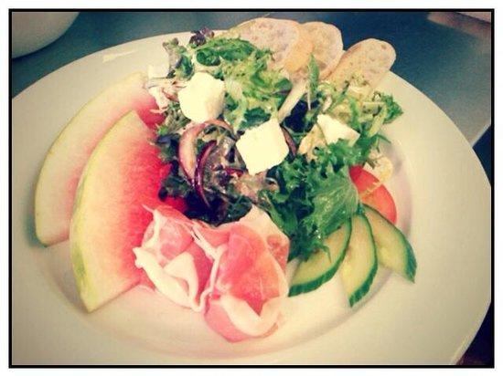 Barista: Feta & watermelon salad