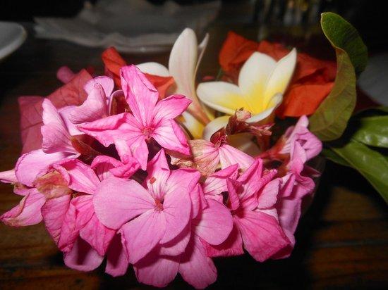 Asso Villa : Decorazioni Floreali sui tavoli