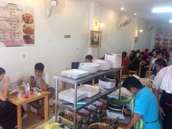 PadThai Panhin Pearl: During lunch time