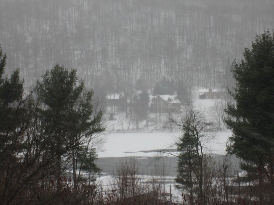 Deep Creek Lake State Park : snow in Deep creek Lake MD