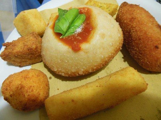 Ristorante La Caletta: fritto Napoli