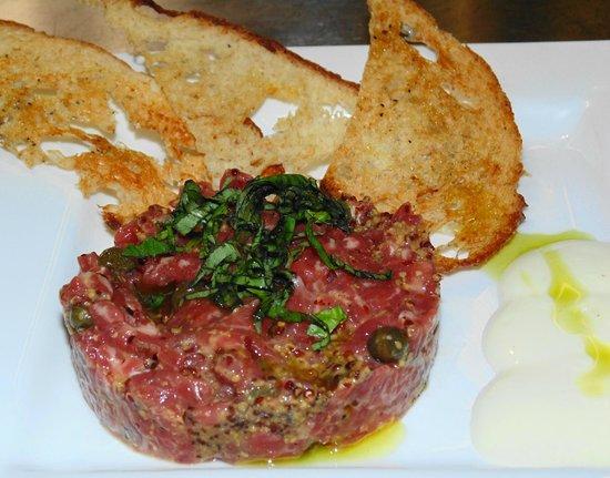 Grapevine Restaurant: Steak Tartare
