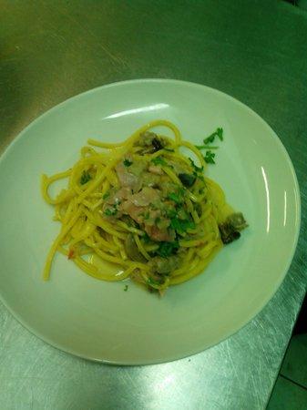 Spaghetti alla super mario