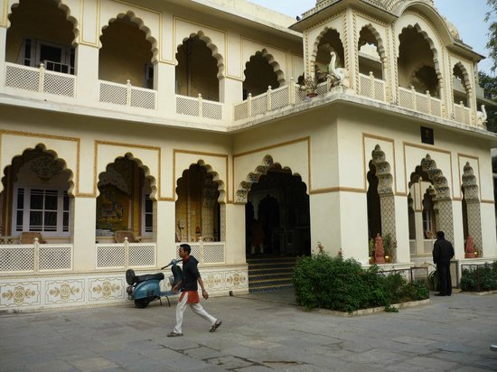 Bissau Palace: Front of hotel