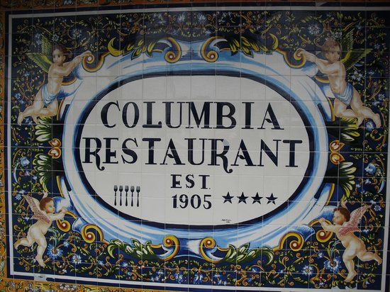 Columbia Restaurant: More tile work