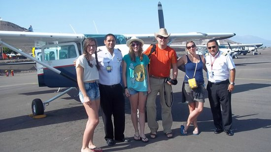 Great Nazca Tours: gran equipo