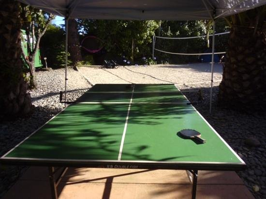 Paradiso Apartments: ping pong table