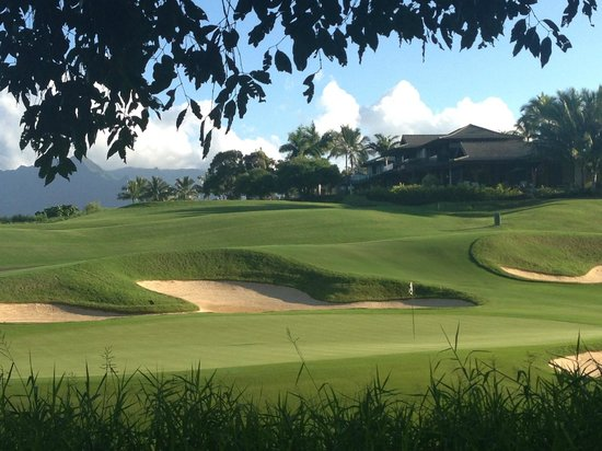 Westin Princeville Ocean Resort Villas: Golf Course Views