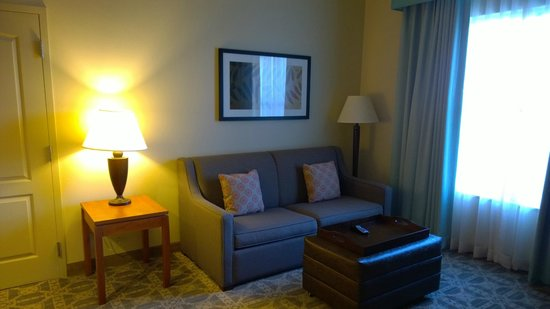 Homewood Suites by Hilton Irving - DFW Airport : Living Room