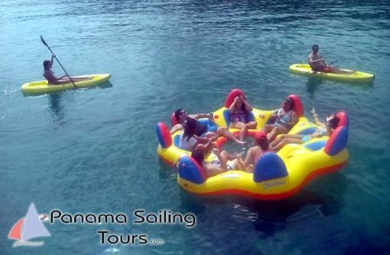 Panama Sailing Private Tours: Party Island