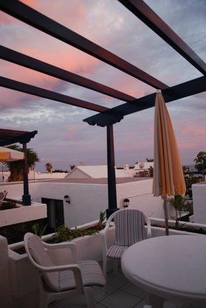 Apartamentos Playa mar: terrazza