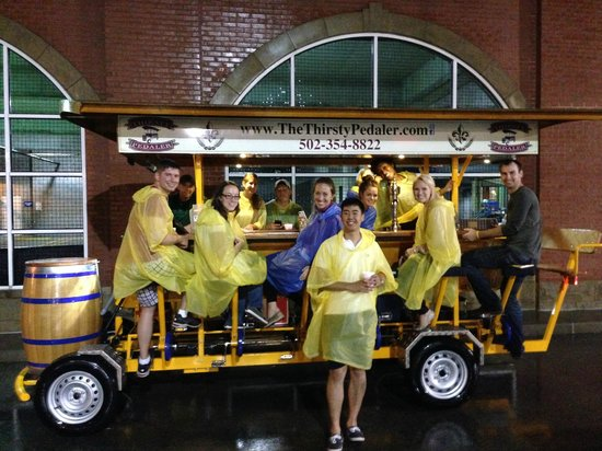 The Thirsty Pedaler: Good Times, even in the rain!