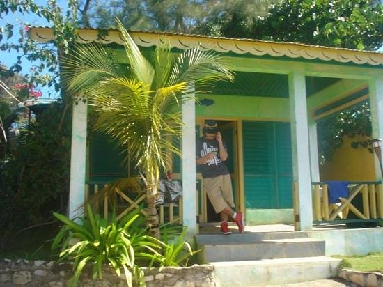 Banana Shout Resort: our house