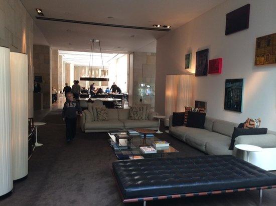 Mamilla Hotel: Lonnge