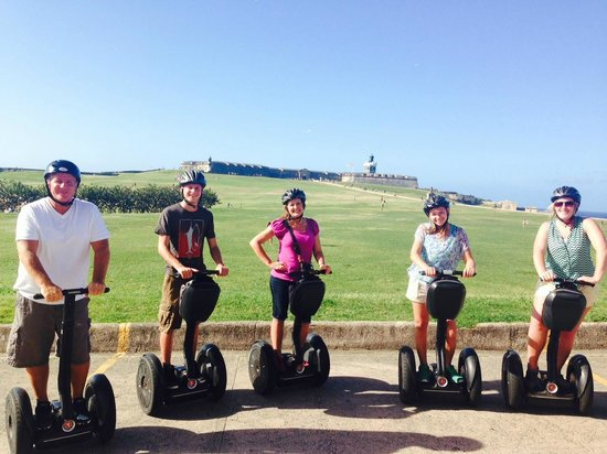 Segway Tours of Puerto Rico: Segway Tour - El Morro Fort OSJ