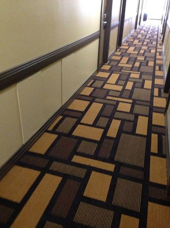Sands Inn & Suites: Hallways