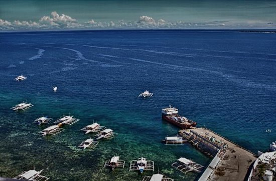 Movenpick Hotel Mactan Island Cebu: view from the balcony