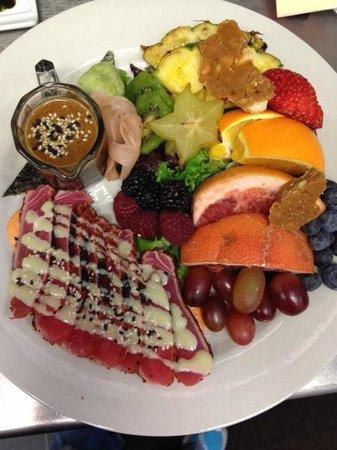 Gwyn's High Alpine Restaurant: Seared Ahi Salad