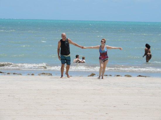 Salinas Maragogi All Inclusive Resort: Praia de Maragogi, que lindaaaa!!!!!!