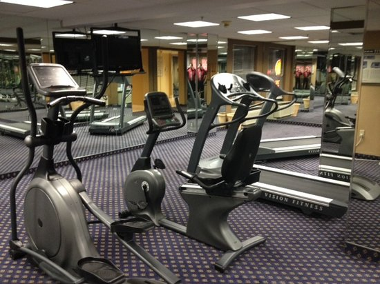 Comfort Inn Randolph: Workout Facility