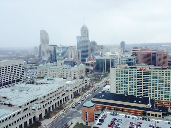 JW Marriott Indianapolis: From my room on the 31st floor