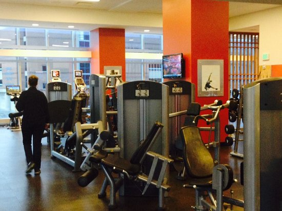 JW Marriott Indianapolis: Great gym