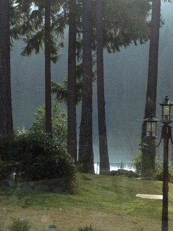 Bistro at Westwood Lake: View...