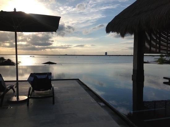 NIZUC Resort and Spa: atardecer en Nizuc