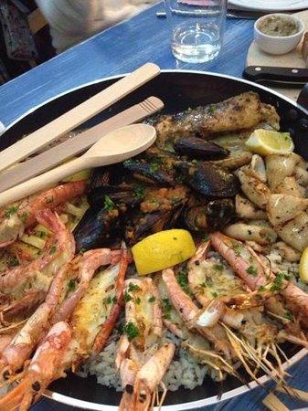 Kritamos Restaurant Rethymno: The famous Seafood Platter