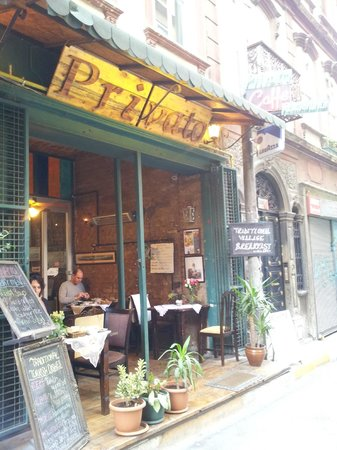 Privato Cafe: Situated near Galata tower, a hidden gem