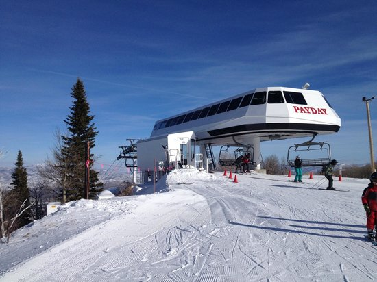 Park City Mountain Resort: Top of the mountain 2