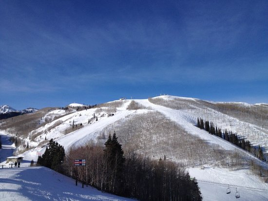 Park City Mountain Resort: View to the top