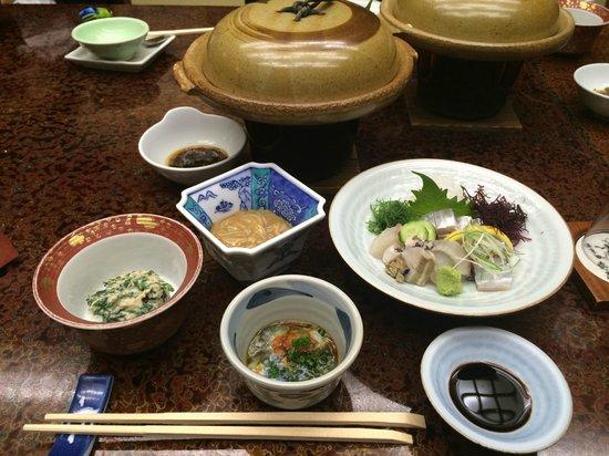 Wataya: 豐富的晚餐