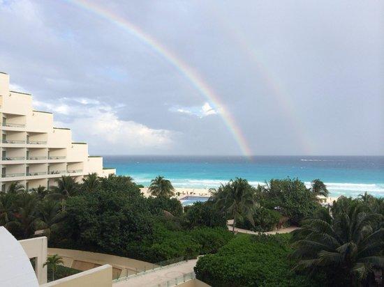 Live Aqua Cancun All Inclusive: inacreditavel ... vista do quarto de frente ao mar