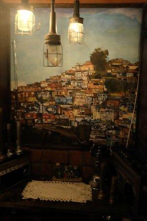 La Favela Nightclub: art everywhere