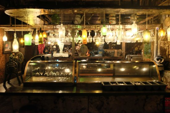 La Favela Nightclub: one of the bars