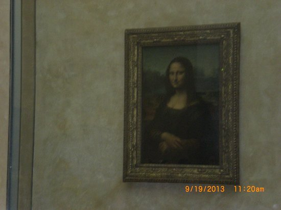 THATLou, Treasure Hunt at the Louvre : The famous one, guess who