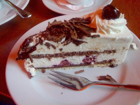 Opern Palais: Black Forest cherry cake is always great!