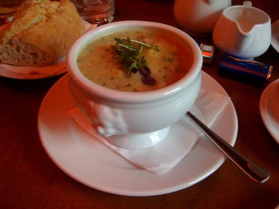 Opern Palais : Wonderful soups!