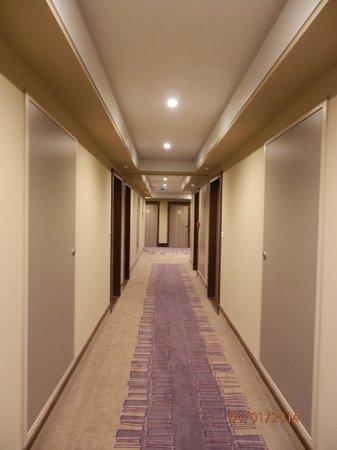 Hotel Lyon-ouest : corridoio