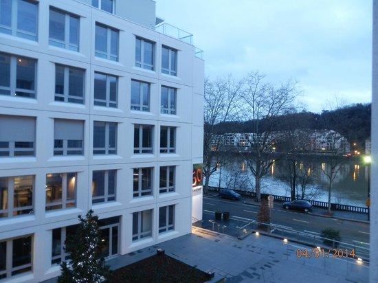 Hotel Lyon-ouest : vista camera