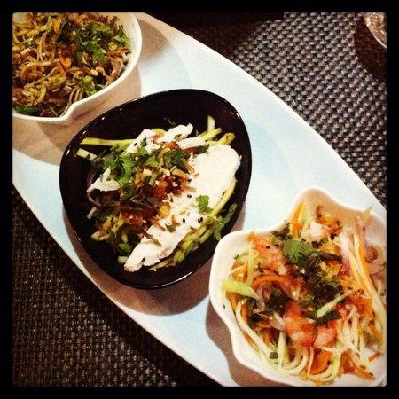 Saigon Pantheon : Les salades..